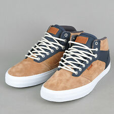 NEW VANS OTW COLLECTION BEDFORD CHIPMUNK IRON SHOES MENS SZ 6.5 SK8 HI LEATHER