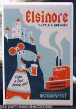 Strange Brew Elsinore Castle & Brewery - Fridge / Locker Magnet. Oktoberfest
