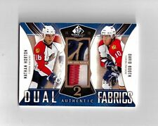 NATHAN HORTON DAVID BOOTH 09-10 SP GAME USED DUAL 4 COLOR PATCH #D /25  WOW