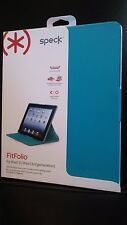 Speck Fitfolio Case for Apple iPad 2/3/4 Generations PEACOCK BLUE SPK-A1711