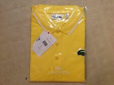 NWT- LACOSTE SPORT MEN'S MIAMI OPEN ULTRA DRY POLO SHIRT - Size  5(LARGE)