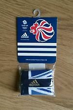 BRAND NEW ADIDAS TEAM GB OLYMPICS LONDON 2012 SWEATBAND WRISTBAND X 2
