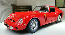 G LGB 1:24 Scale Red Ferrari 250 GTO 1962 26018 Burago Very Detailed Model Car
