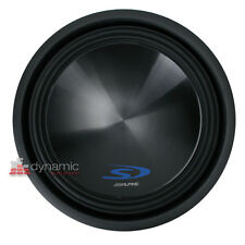 "ALPINE SWS-15D4 Car Stereo 15"" Type-S Series Dual 4-Ohm Subwoofer 1,000 Watts"