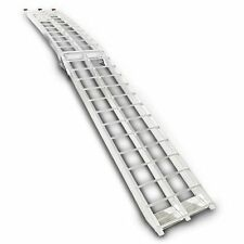 Aluminium loading ramp, max. 340 kg, folding, for Truck/Trailer/Van