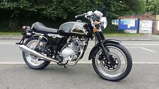 AJS CADWELL 125 CAFE RACER VINTAGE OLD SCHOOL MOTORCYCLE LEARNER LEGAL 125CC