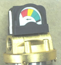 New MEMTEC FILTERITE MODEL 910052 Stainless Brass with Clean dirty change gage