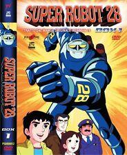 SUPER ROBOT 28 DVD BOX 1 YAMATO VIDEO PRIMA EDIZIONE SIGILLATA