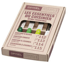 Opinel Kitchen 4 Small Set Les Essentials Paring Knives Primavera 1709 NEW