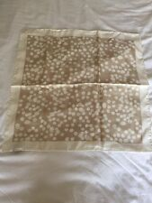 Burberry 100% Silk Cream Neck Scarf