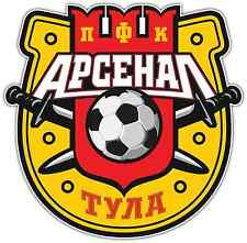 "FC Arsenal Tula Russia Football Soccer Car Bumper Sticker Decal 4""X5"""