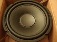 "NEW 8"" Replacement Woofer Speaker.4 ohm.200watt eight inch Home Car Audio Driver"