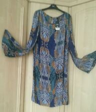 BNWT Next Paisley Tunic Dress Size 20 Tall