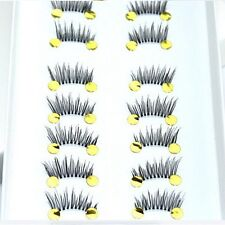 Beauty Makeup mini half Corner Black False Eyelashes Natural Eye Lashes 10 pairs