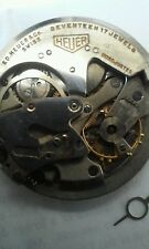 Ed heuer automatic chronograph 17jewel movement with missing parts