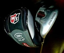 Wilson Heavy Sole Fybrid  21 Degree 3 Hybrid Stiff Flex graphite #4202