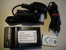 2 x NP-BX1  REPLACEMENT BATTERIES FOR SONY HDR AS20 AS30VE AS100V  + CHARGER