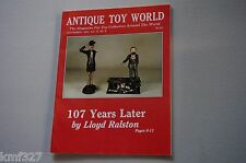 Vintage ANTIQUE TOY WORLD MAGAZINE Vol 13 No. 9 Sept 1983 107 Years Later Lloyd
