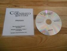 CD Indie Cornshed Sisters - Dresden (1 Song) Promo MEMPHIS INDUSTRIES