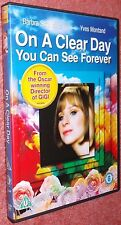 On A Clear Day You Can See Forever DVD1970 Barbra Streisand Musical Film Movie