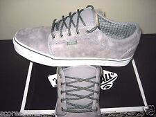 Vans Chukka Low Hiker Grey Mint Suede Canvas Skate Shoes Size 11 NWT VN-0UOG9VY