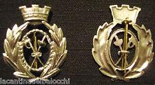 WWI WW2 Fregio MAESTRI DI SCHERMA  Esercito Italiano Orig. Bomisa