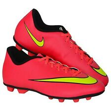 NEW Nike JR Mercurial Vortex II FG-R Soccer Cleats - Hyper Punch - Size: 4