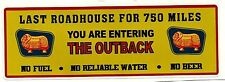 "GOLDEN FLEECE ""ROAD HOUSE"" PROMO STICKER DECAL PETROL OIL GAS SERVICE STATION"