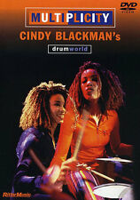 Cindy Blackman Multiplicity Learn to Play Jazz Rock Funk Drums Music DVD