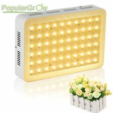 PopularGrow Full Spectrum 300W LED Grow light For Veg Bloom indoor plant