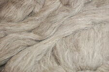 Light grey Herdwick natural wool roving / tops - hand spinning needle felting