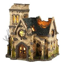 "Dept.56 Snow Village Halloween ""THE HAUNTED CHURCH""~ New For 2014 ~ MIB !!"