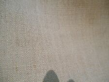 NATURAL GREY/BEIGE WOVEN LINEN BLEND  UPHOLSTERY FABRIC