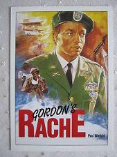 Filmplakatkarte  videoplus  Gordon's Rache  Paul Winfield, Carl Lee