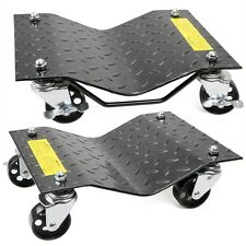 "1pair Auto Dolly Car Dolly Wheel Tire 12""x16"" Skate 3000lb Repair Slide"