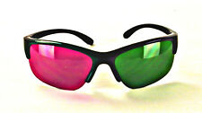 NEW ProX Style 3D Glasses -High End 3 Pack - Magenta/Green FREE SHIPPING