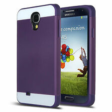 Rugged Hybrid Impact Shockproof Slim Hard Case Cover for Samsung Galaxy S4 i9500