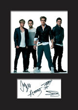 McFLY Signed Photo Print A5 Mounted Photo Print - FREE DELIVERY