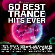 60 Best Trance Hits Ever by Various Artists (CD, Sep-2011, 3 Discs, Armada)