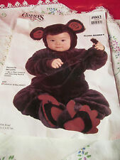 Plush Monkey Halloween Costume Size 6 to 18 Months Used