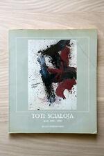 TOTI SCIALOJA - opere 1980 - 1990 - De Luca Edizioni - 1990