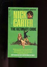THE ULTIMATE CODE - Nick Carter # 101,    Award  1st US SB Good