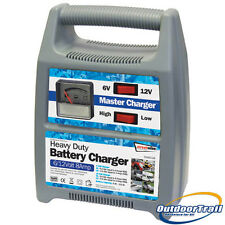 8 Amp Streetwize 12v / 6 Volt Heavy Duty Battery Charger Car, Caravan, Boat