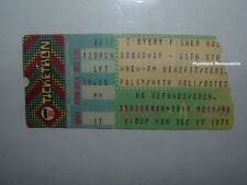 HALL & OATES 1979 Concert Ticket Stub AVERY FISHER HALL Cerebral Palsy Benefit