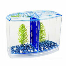 Fighting BETTA FISH TANK KIT AQUARIUM FISH TANK TWIN BOW FRONT TANK