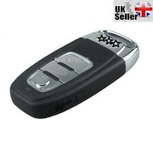 "3 BUTTON SMART REMOTE KEY CASE WITH BLADE FOR AUDI A3 A4 A5 A6 A7 ""WITH LOGO"""