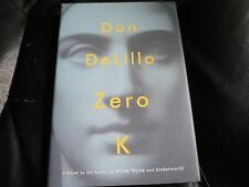 DON DELILLO SIGNED - ZERO K - Limited First Hardcover Edition NEW White Noise
