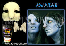 Halloween Foam latex Full Avatar Set ears face teeth.