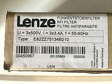 Lenze RFI Filter Typ : E82ZZ75134B210 -3 x 3,4A  NEU OVP
