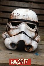 star wars black series stormtrooper helmet 1:1 custom paint sand trooper rogue